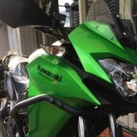 足つき確認!カワサキ話題の新車乗り比べ~「大阪モーターサイクルショー」!