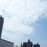 今朝(5月28日)の東京のお天気:晴れ、5月(後半)の作品:花を持つ童子