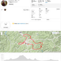 ウルトラマラソン100キロコース(ほぼ)へ。千光寺の坂はきつい!!