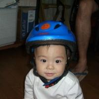 はる坊のヘルメット