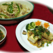とらうり(まくわ瓜)・・・豆腐ステーキ。