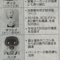会話型ロボの開発が加速/どうなる日本経済