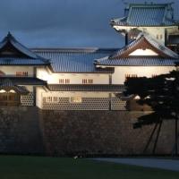 秋の遠征 夜の金沢城