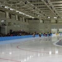 冬季アジア大会スピードスケート 最終戦 観戦