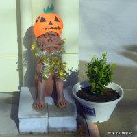 琉球大田焼窯元ギャラリー情報 ☆お出迎えシーサー ハロウィングツズになりました(*^_^*)