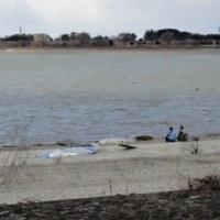 チャリンコGT! -渡良瀬遊水池- (1) いきなり映画のような雨雲が!
