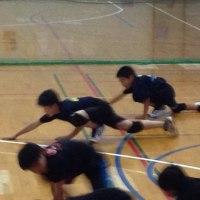 6月19日 山北高校小中学生練習会