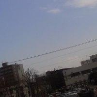 2017/3/29 午前9時過ぎ札幌の空模様