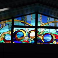 京さまへ 軽井沢駅のステンドグラス