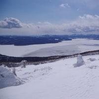 藻琴山スノーシューしてきました! Mt.Mokoto