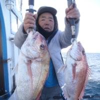 1月7日(土)一つテンヤマダイの釣果