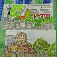 絵手紙展&4月課外授業