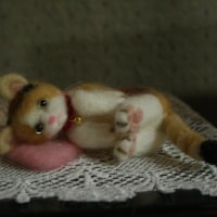 三匹目のフェルト猫ちゃん