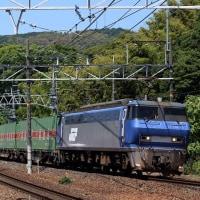 EF200-2の56レ福通貨物を撮影~山崎駅にて_17/06/17
