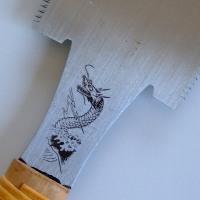 (訳あり)両刃鋸を紹介しています。