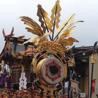 ぶらり旅・秋の高山祭(屋台曳き揃え④神楽台)(岐阜県高山市)