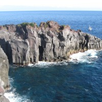 熱川温泉と忍野八海観光の旅;第1日目(2);城ヶ崎海岸散策