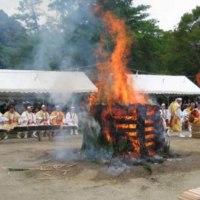 Aoba festival of Chishakuin temple at Kyoto city