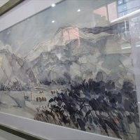 久保田さん やそじの絵画展