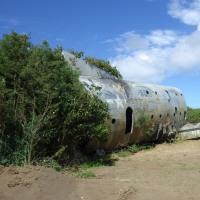 2016年小笠原村硫黄島慰霊墓参(9)今回初めて行った場所(7)B-29残骸(1)