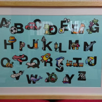 切り絵deアルファベット