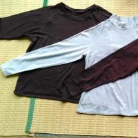 洋裁学校 24~26作目 ロングTシャツ
