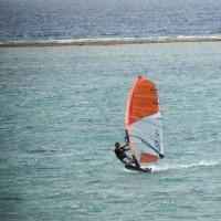 最終日前日のムーンビーチ今日もいい風吹きました。