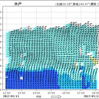 13日、北部と沿岸部で降水まとまる。上空3000㍍までの風向に注目!