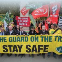 ロンドン 〝一人乗務反対〟掲げ 地下鉄・南部鉄道で連続スト