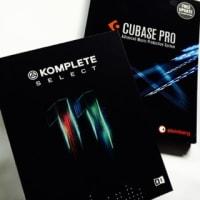 とうとうCubase Pro 9 とKOMPLETE SELECTセットで購入。