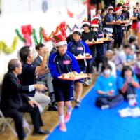 浦添市・障がい児・者ふれあいクリスマス会がありました。