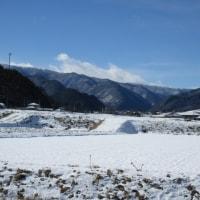 1月16日(月)今日の常念岳&浅間山&蓼科山