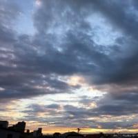 2016.11.29.の朝の空。