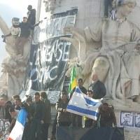 フランスの大規模デモ