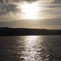 2016年小笠原村硫黄島慰霊墓参(335)小笠原丸で硫黄島を周回(46)硫黄島の北側から島の北西端方面