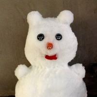 雪だるまを作ってみました