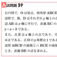 中学数学・1次関数・2次関数 39 愛知県・静岡県・高校入試問題