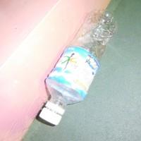 ペットボトル1本、収集、レジ袋でゴミ拾い&パトロール