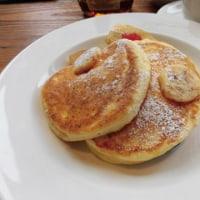 ロイヤルガーデンカフェでパンケーキ