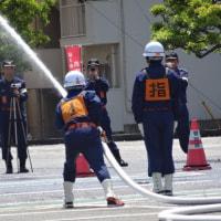 消防団訓練大会に参加して
