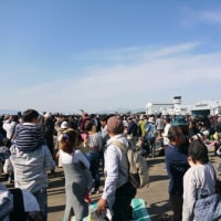 岐阜基地 航空祭にハーレーで行って来た
