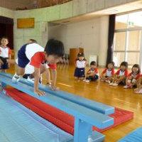 年中体操教室(平均台)