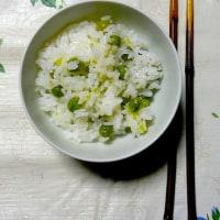 「写真&俳句!」 ほんのりと母の塩味豆の飯
