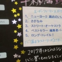 千葉劇場の2016年人気投票ベスト5