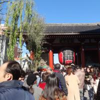 初詣浅草寺
