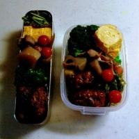 今日のお弁当は、昨日は、お休みさせていただきました❗(*_*)