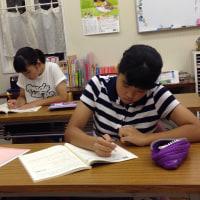 中学生、テスト週間
