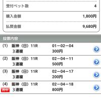 第67回阪神JF(G1)三連複