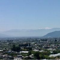 20/May 雲海の富士山と南アルプスとコルリとコマドリ