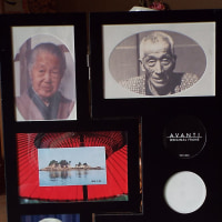 祖父母と父母の遺影額縁を作りました